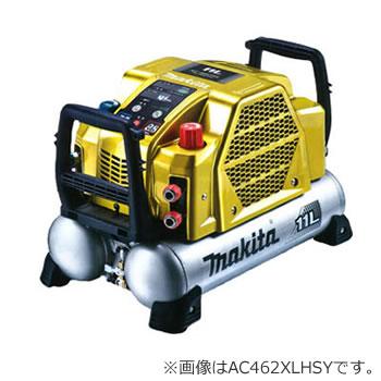 マキタ【makita】16L高圧エアーコンプレッサー(Sイエロー) AC462XGSY★【2口高圧・2口一般圧】