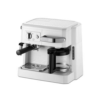 デロンギ【DeLonghi】コンビコーヒーメーカー ホワイト BCO410J-W★【BCO410JW】
