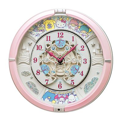 セイコー【SEIKO】からくり時計 サンリオキャラクターズ CQ222P★【CQ222P】