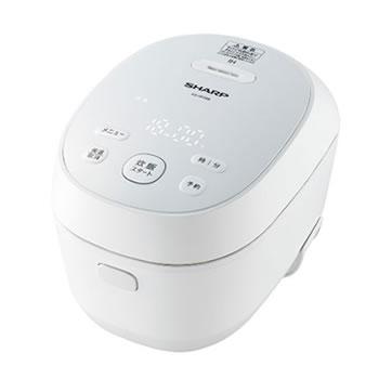 シャープ【SHARP】3合 IH炊飯器 ホワイト系 KS-HF05B-W★【KSHF05BW】