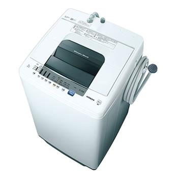 日立【HITACHI】7.0kg 全自動洗濯機 ピュアホワイト NW-70E-W★【NW70EW】