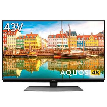 シャープ SHARP43V型 4K液晶テレビ AQUOS CL1シリーズ 4T C43CL14TC43CL19HIDE2