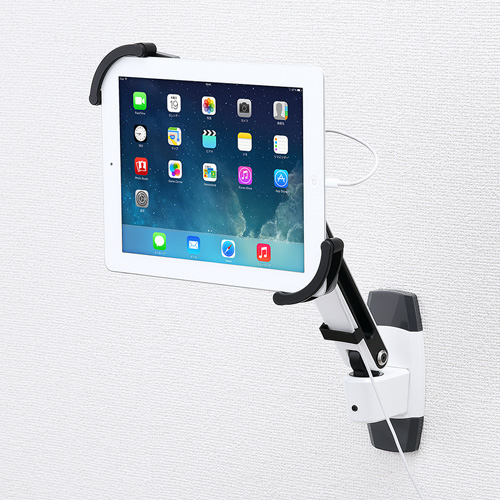 サンワサプライ【SanwaSupply】7~11インチ対応iPad・タブレット用アーム(壁面用)CR-LATAB10★【CRLATAB10】