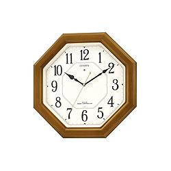 リズム時計工業【CITIZEN】ネムリーナルック★電波掛時計【4MY645-006】