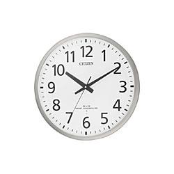 リズム時計工業【シチズン】スペイシーM463★電波掛時計【8MY463-019】