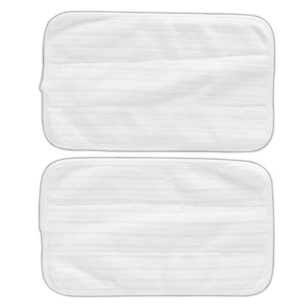 モップ用マイクロファイバーパッド STMP-025替えパッド 掃除機 バッド 交換 STP-201用 アイリスオーヤマ ホワイト 花粉対策