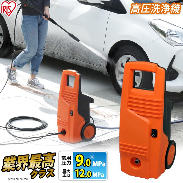 【あす楽】 高圧洗浄機 FBN-601HG-D オレンジ アイリスオーヤマ送料無料[cpir]