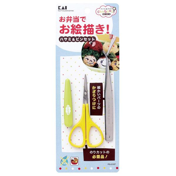 贝印[KAI]剪刀&小钳子FG-5107