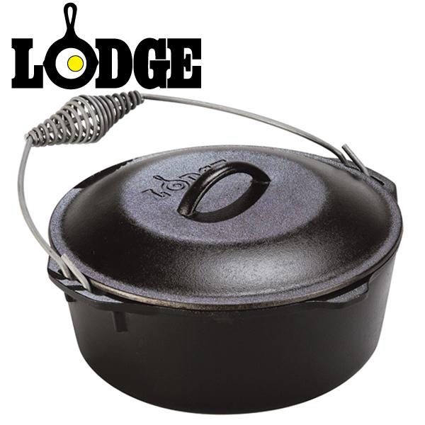 LODGE(ロッジ) ダッチオーヴン 10 1/4インチ L8DO3 01033501000008【D】【ロッジ ロジック ダッチオーブン ダッチオーヴン キャンプ レジャー BBQ バーベキュー 調理 アウトドア】