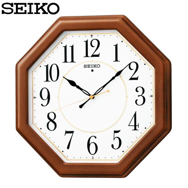 SEIKO〔セイコー〕電波掛け時計 KX389B送料無料 壁掛け時計 掛時計 時計 電波時計 電波 アナログ シンプル TC オフィス 掛け時計 HD 時間指定不可 木製 返品不可 新生活