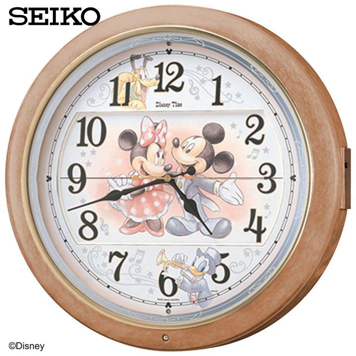 SEIKO〔セイコー〕ディズニーからくり電波時計 FW561A送料無料 Disney ミッキー ミニー 壁掛け時計 掛時計 掛け時計 時計 電波時計 電波 アナログ おしゃれ かわいい 子供 振り子 新生活 【TC】【HD】