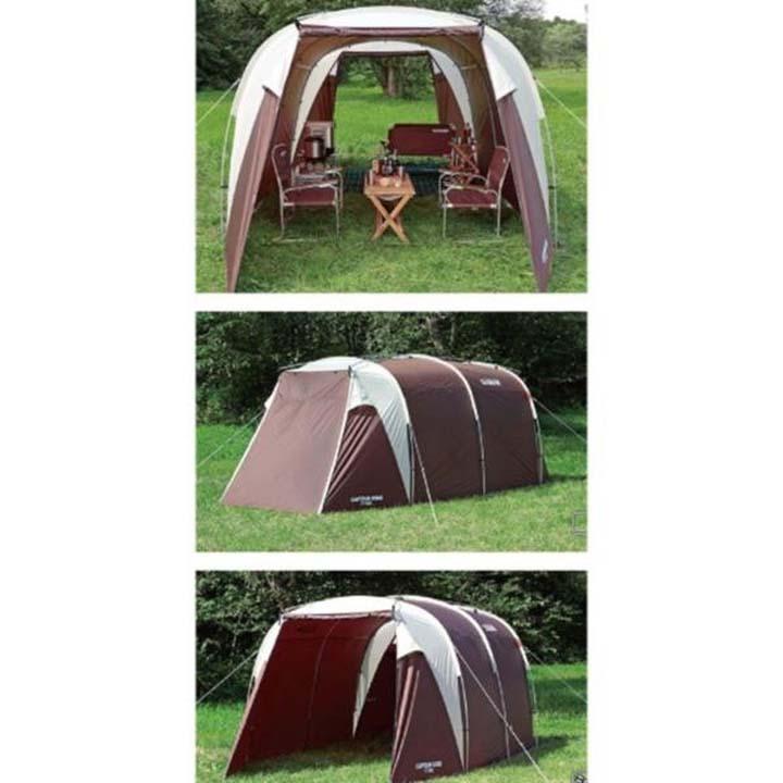 CAPTAIN STAG〔キャプテンスタッグ〕 エクスギアシェルターワンルームドーム UA-0017 テント キャンプ ドームテント ワンルーム ドーム パール金属