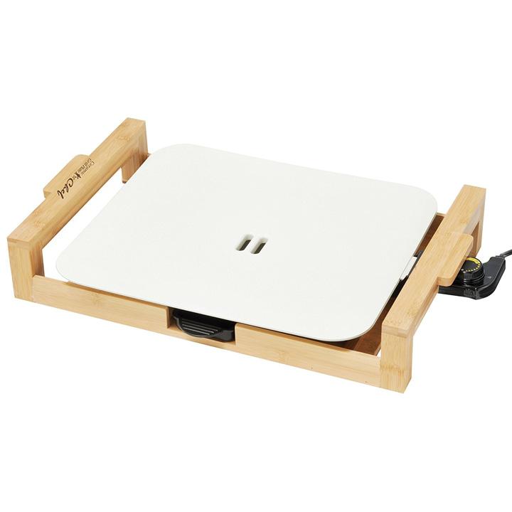 【B】セラミックグリルプレート ホワイト HP-70088送料無料 ホットプレート 電気 焼き肉 卓上 ホットプレート焼き肉 ホットプレート卓上 電気焼き肉 焼き肉ホットプレート 卓上ホットプレート 【D】