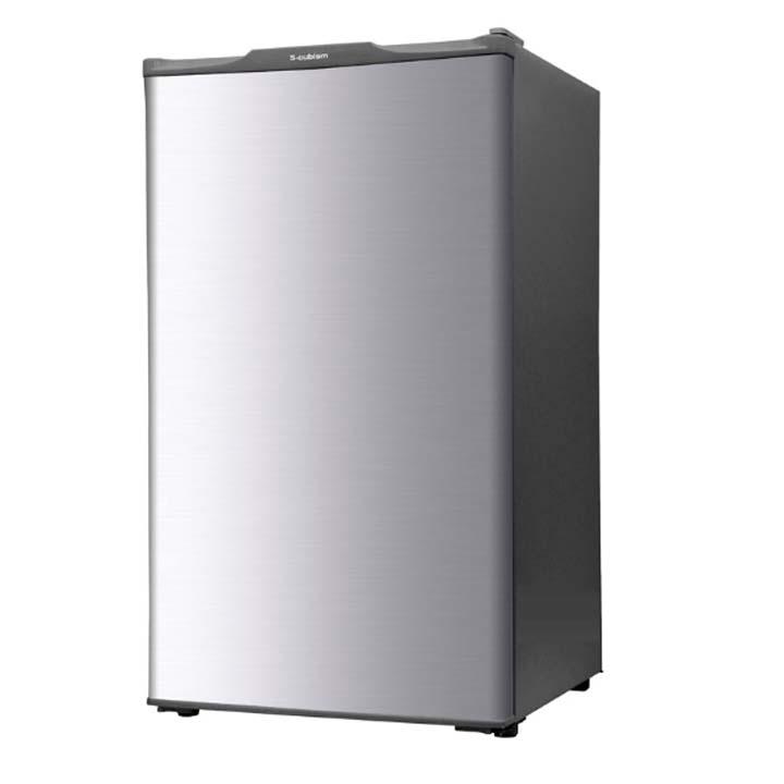 冷凍庫 60L 1ドア WFR-1060SL S-cubism送料無料 冷凍庫 小型 家庭用 冷凍庫 前開き 60L シルバー 小型冷凍庫 キッチン家電 冷凍庫小型冷凍庫 直冷式 おしゃれ 1ドア小型冷凍庫【D】
