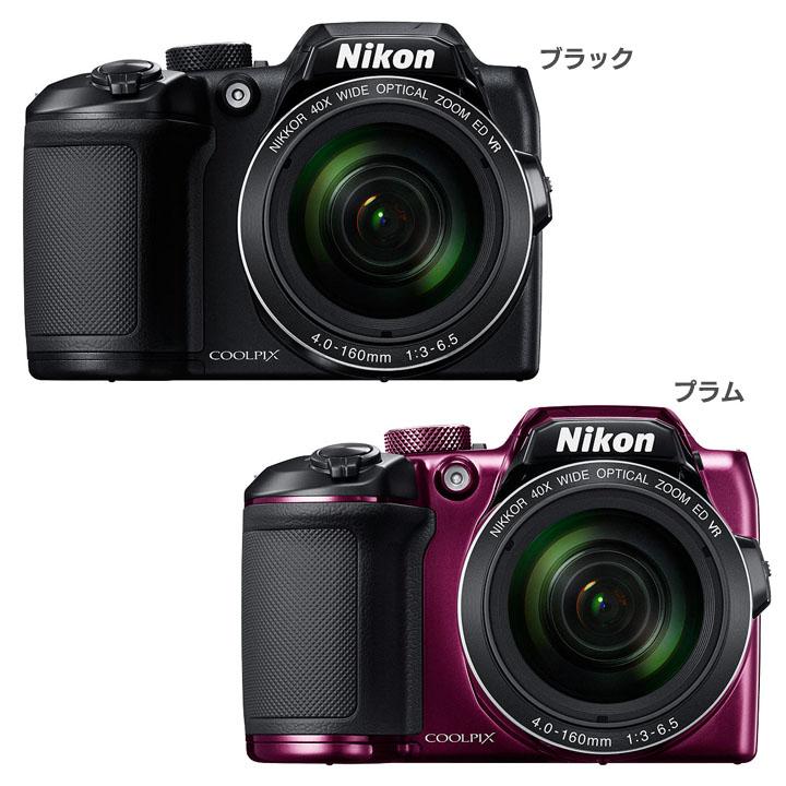 COOLPIX B500BK送料無料 デジタルカメラ カメラ 写真 デジカメ ニコン ブラック・プラム【D】