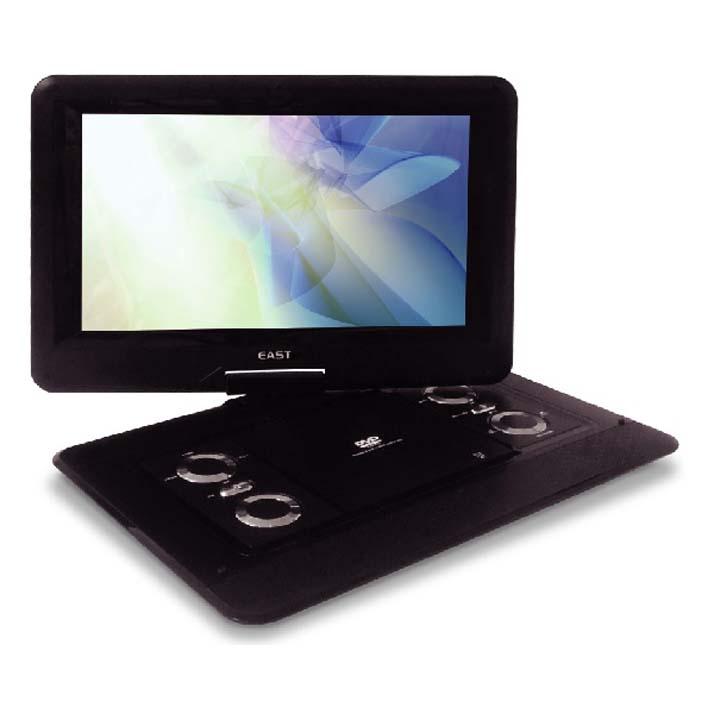 14型ポータブルDVDプレーヤー ブラック DVD-P1400送料無料 DVDプレイヤー CPRM対応 14インチ 家電 アズマ 【D】