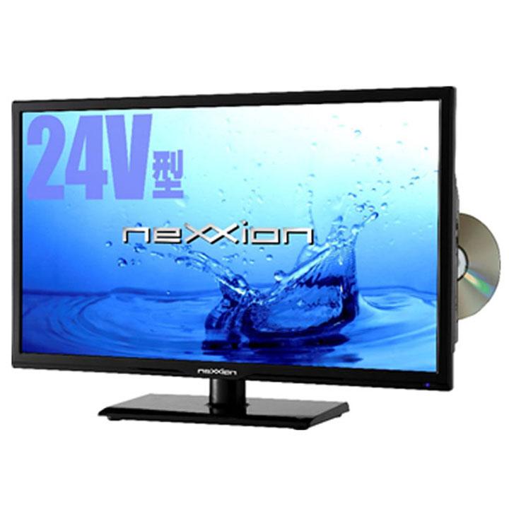 【在庫限り】テレビ 24V型 DVDプレーヤー内蔵地上波デジタル フルハイビジョン液晶テレビ FT-A2420DB送料無料 TV 地デジ 24型 24インチ 外付けHDD 【D】