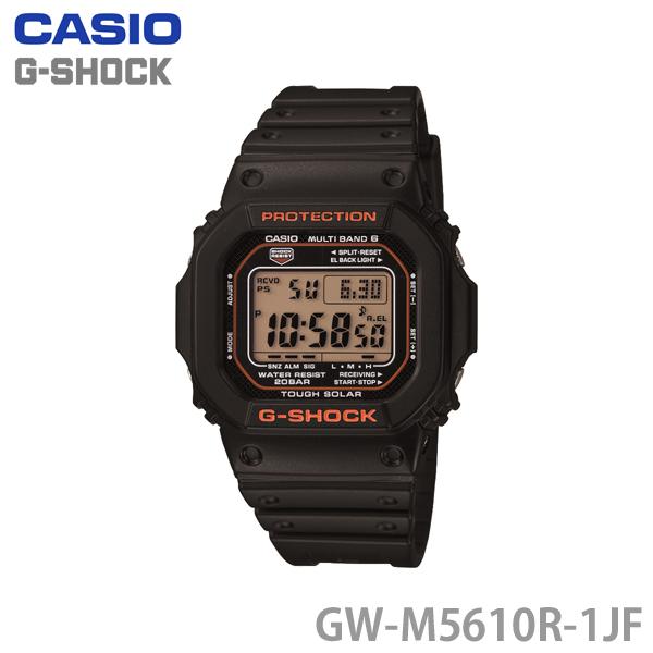 GSHOCK〕【HD】【TC】 スポーツ ソーラー】カシオ〔CASIO〕G-SHOCK 【腕時計 防水 時計 ジーショック [CAWT]【送料無料】 GW-M5610R-1JF〔メンズ 水泳 水 電波時計 ワールドタイム