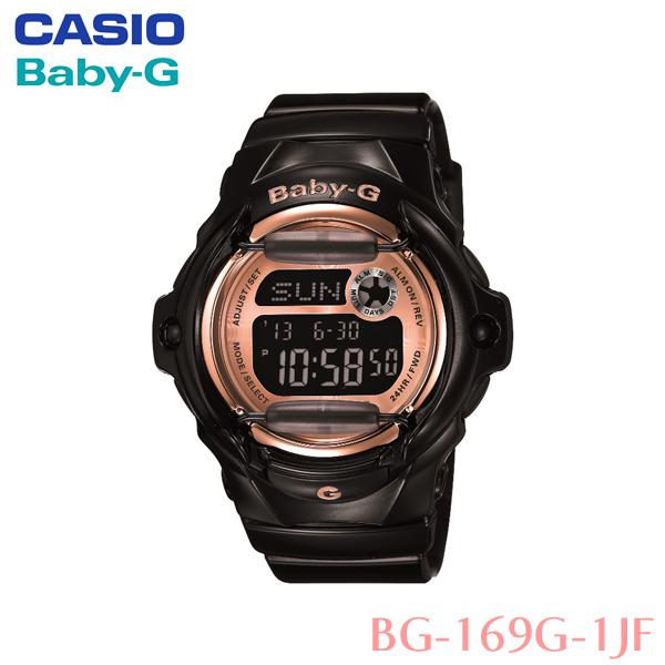 【国内正規品 腕時計 レディース】カシオ〔CASIO〕Baby-G・h水腕時計 BG-169G-1JF〔ベイビージー 女性用 時計 防水 水泳 ストップウォッチ〕【HD】【TC】 [CAWT]【送料無料】