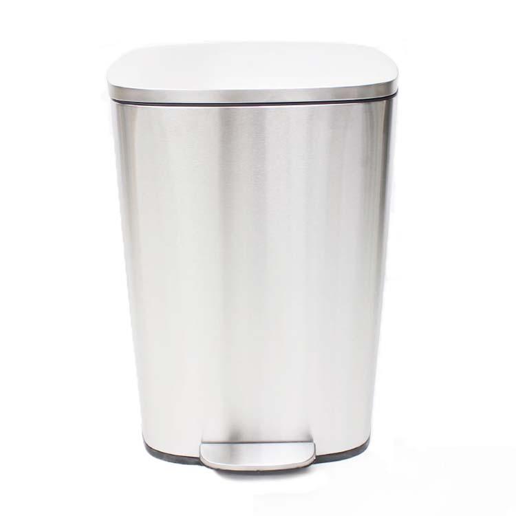 ステンレスダストボックス50L H8-50L ごみ箱 ゴミ箱 ごみ入れ 掃除 ヒロコーポレーション 送料無料 【D】