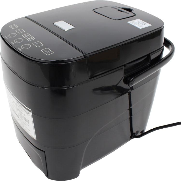 糖質オフ炊飯器HTC-001BK 送料無料 炊飯器 5合 糖質オフ 糖質カット 糖質制限 低糖質 すいはんき 5合炊き ヒロコーポレーション 【D】