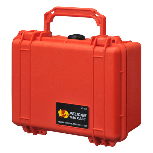 オレンジ 【ラッピング不可】【快適家電デジタルライフ】 1150HKOR PELICAN ペリカン 小型防水ケース