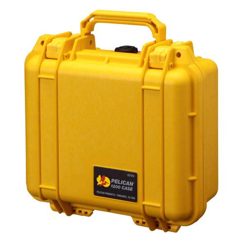 PELICAN ペリカン 小型防水ケース 1200HKYL イエロー 【ラッピング不可】【快適家電デジタルライフ】
