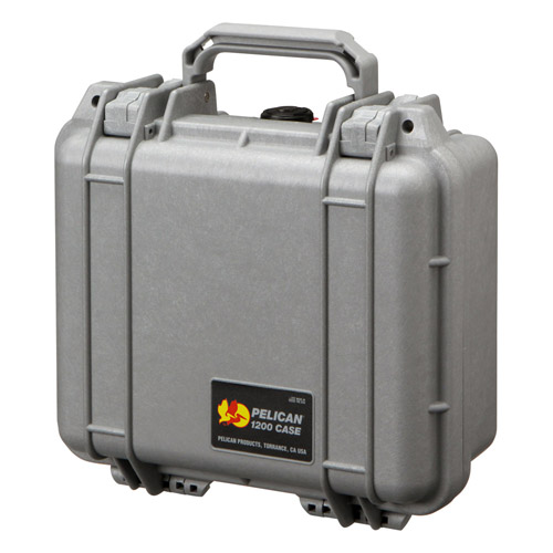 PELICAN ペリカン 小型防水ケース 1200HKSV シルバー 【ラッピング不可】【快適家電デジタルライフ】