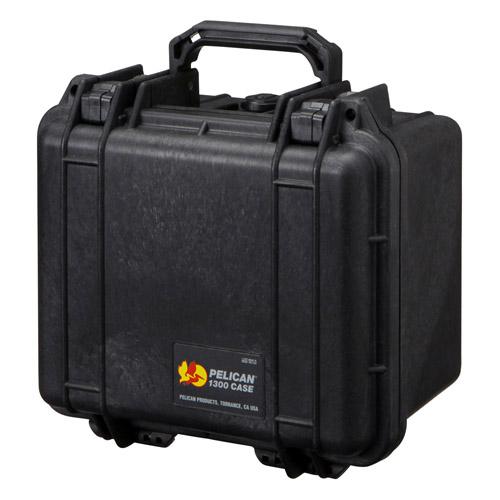 (メーカー直送)(代引不可) PELICAN ペリカン 小型防水ケース 1300HKBK ブラック 【ラッピング不可】【快適家電デジタルライフ】