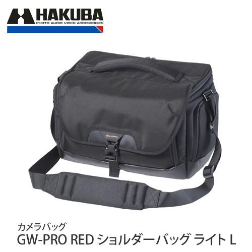 ハクバ カメラバッグ GW-PRO RED ショルダーバッグ ライト L (ラッピング不可)(快適家電デジタルライフ)
