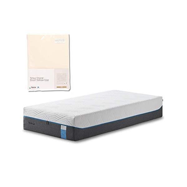 (メーカー直送)(代引不可) TEMPUR テンピュール (マットレス&カバーセット) クラウドリュクス30 SD & スムースマットレスカバー (アイボリー) (ラッピング不可)(快適家電デジタルライフ)