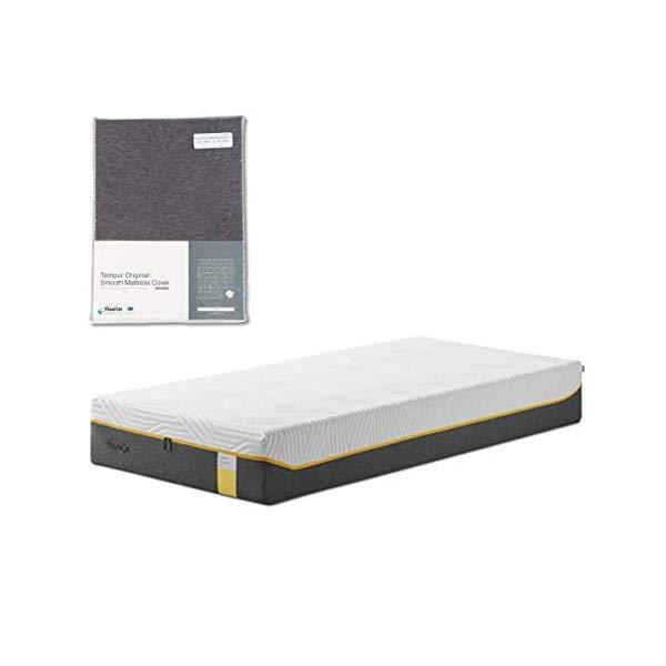 (メーカー直送)(代引不可) TEMPUR テンピュール (マットレス&カバーセット) センセーションエリート25 SD & スムースマットレスカバー (グレー) (ラッピング不可)(快適家電デジタルライフ)