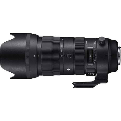 SIGMA (シグマ) 大口径望遠ズームレンズ 70-200mm F2.8 DG OS HSM (S) キャノン(快適家電デジタルライフ)