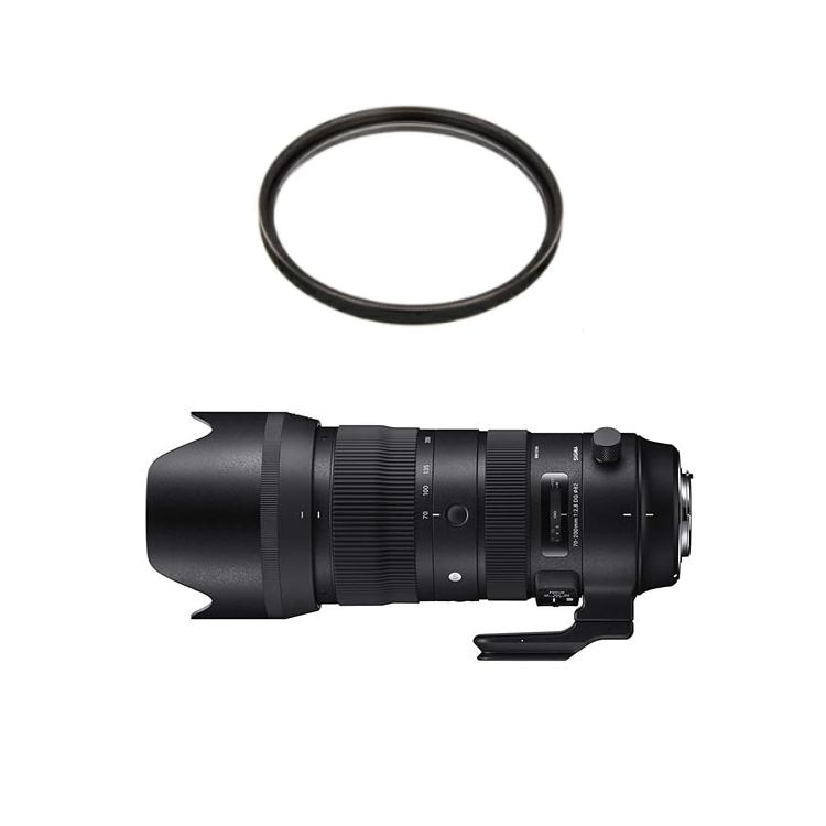 (レンズフィルターセット)SIGMA (シグマ) 大口径望遠ズームレンズ 70-200mm F2.8 DG OS HSM (S) シグマ(快適家電デジタルライフ)
