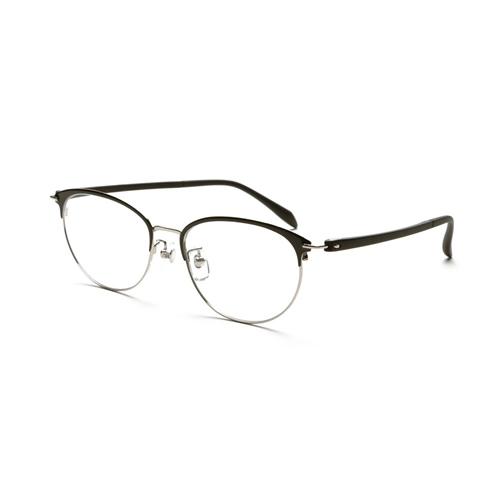 老眼鏡 ピントグラス 小松貿易 PINT GLASSES 709BK (PG-709-BK) 兼用 (老眼度数:+0.60~2.50D)