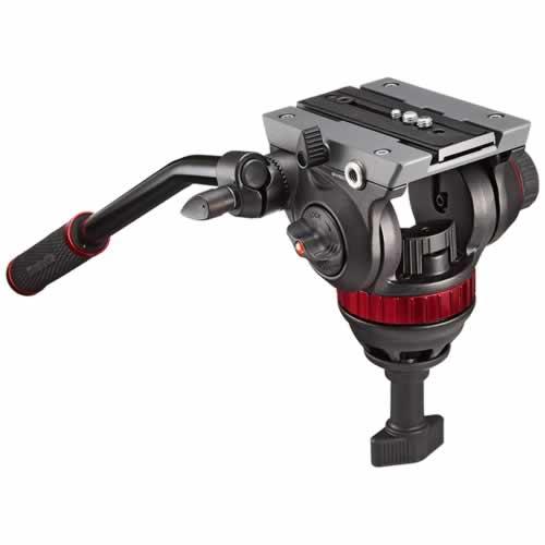 (メーカー直送)(代引不可) マンフロット MVH502A プロフルードビデオ雲台 75mm ハーフボール (ラッピング不可) (快適家電デジタルライフ)
