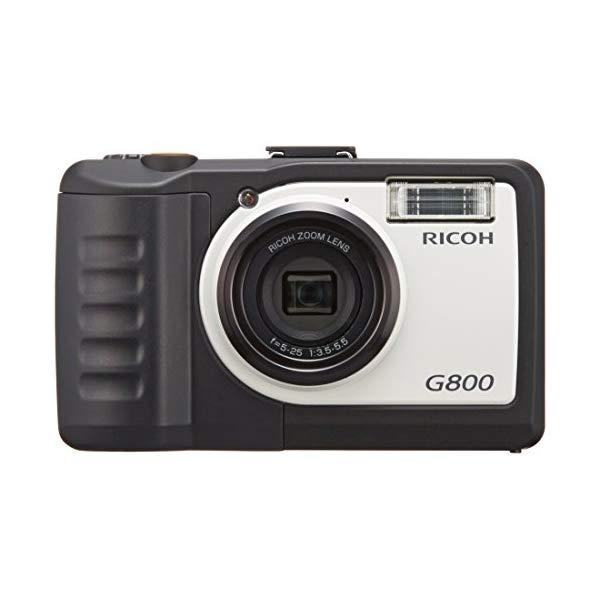 【Class10 SDカード8GB&予備バッテリー付】 リコー RICOH G800 &SD16GB&バッテリー 【快適家電デジタルライフ】