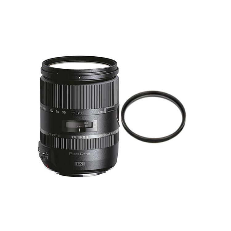 【レンズ保護フィルター付】 タムロン 高倍率ズームレンズ 28-300mm F/3.5-6.3 Di VC PZD ニコン用 (Model A010N) 【快適家電デジタルライフ】