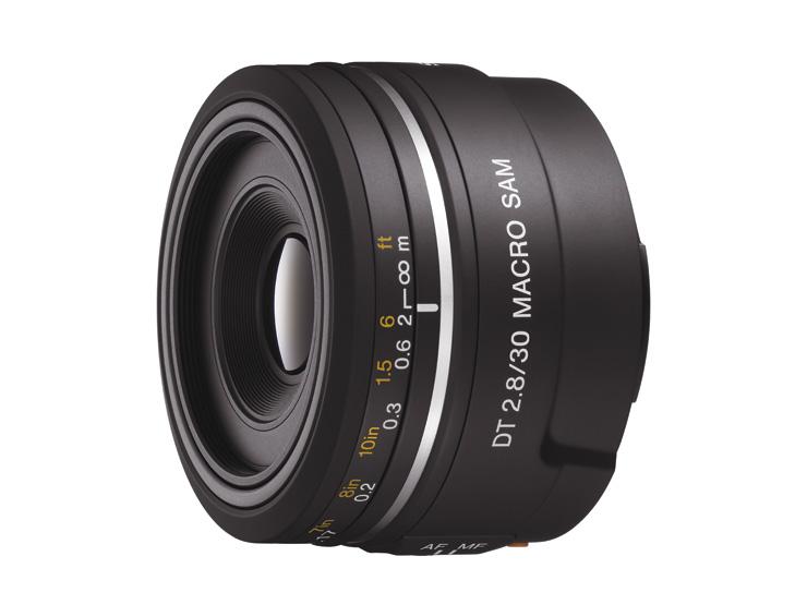 ソニー(SONY) マクロレンズ SAL30M28 【DT 30mm F2.8 Macro SAM】 デジタル一眼レフカメラ用レンズ 【快適家電デジタルライフ】