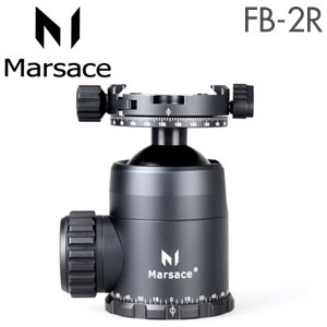 (メーカー直送)(代引不可)マセス (Marsace) 自由雲台 FB-2R(パンニングクランプ付)(ラッピング不可)(快適家電デジタルライフ)