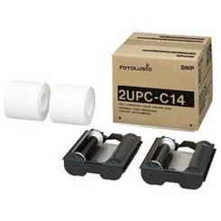 DNPフォトイメージング ラミネートカラープリントパック 2UPC-C14 (KG判700枚×2ロール) 【快適家電デジタルライフ】