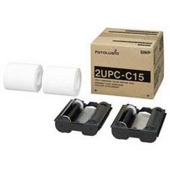 DNPフォトイメージング ラミネートカラープリントパック 2UPC-C15 (2L判172枚×2ロール) 【快適家電デジタルライフ】