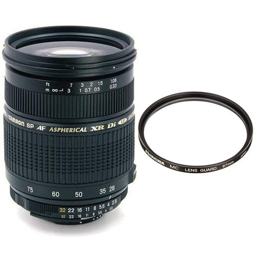 【レンズフィルター付】 タムロン SP AF 28-75mm F/2.8 XR Di LD Aspherical[IF] MACRO Model:A09NII ニコン用 【快適家電デジタルライフ】