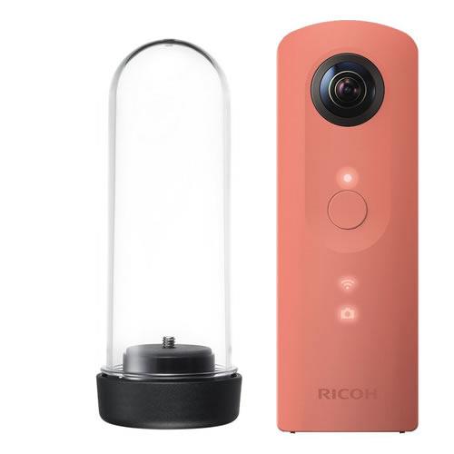 【ハードケース付き】 リコー デジタルカメラ THETA SC ピンク 【快適家電デジタルライフ】
