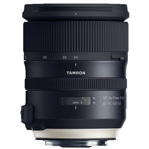 タムロン 大口径標準ズームレンズ SP 24-70mm F/2.8 Di VC USD G2 キヤノン用 【A032E】【快適家電デジタルライフ】