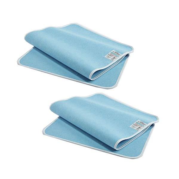 【2枚セット】 東京西川 敷パッド センサー付き吸湿パッド ドライウェルプラス(シングル) ブルー CNT9803401 【ラッピング不可】【快適家電デジタルライフ】