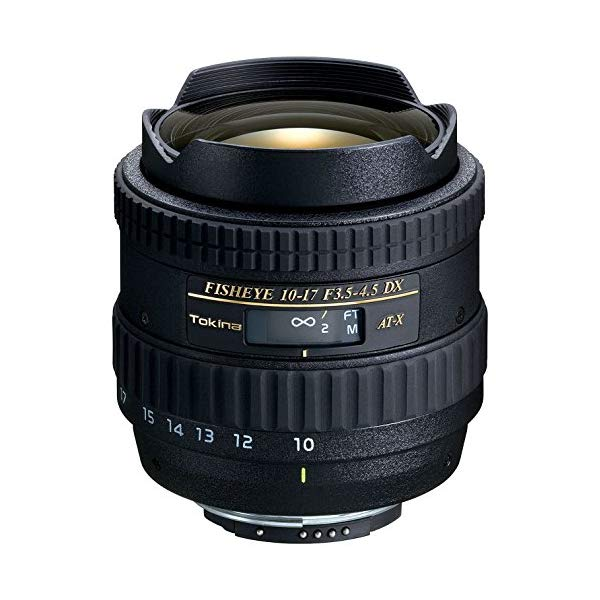 【送料無料】トキナー(Tokina)AT-X107 DX Fisheye 10-17mm F3.5-4.5魚眼レンズ(デジタル一眼レフ専用)【マウント選択式】【快適家電デジタルライフ】