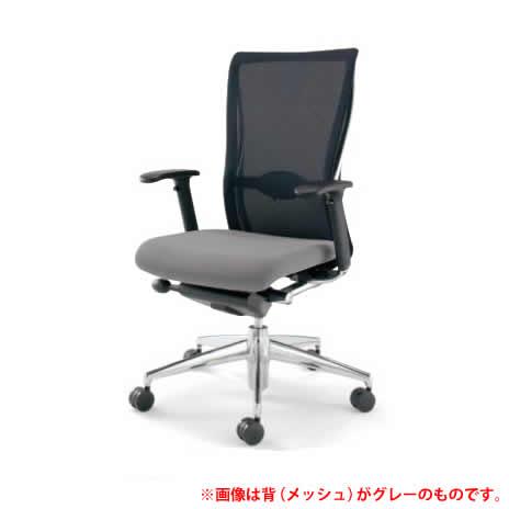 KOKUYO オフィスチェア フォスター(FOSTER) CR-G1431C1 [背面カラー:ホワイト] [ヘッドレスト無し・ランバーサポート・可動肘付] 【キャスター・座面カラー選択式】※画像は背面がブルーイッシュグレーですが、商品はホワイトです。【快適家電デジタルライフ】