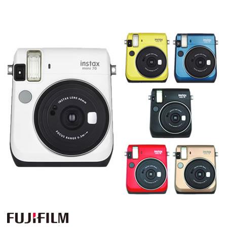 富士フィルム インスタントカメラ チェキ instax mini 70N [カラー選択式](FUJIFILM)(快適家電デジタルライフ)