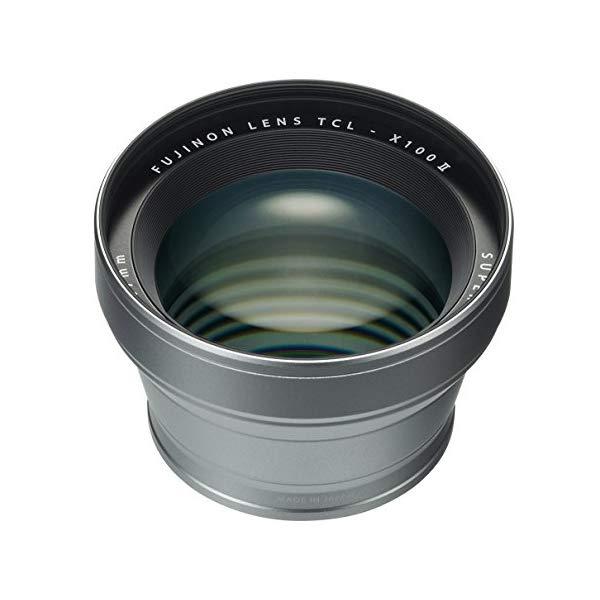 FUJIFILM 【フジフイルム】 コンバージョンレンズ TCL-X100II [カラー選択:シルバー/ブラック]【快適家電デジタルライフ】